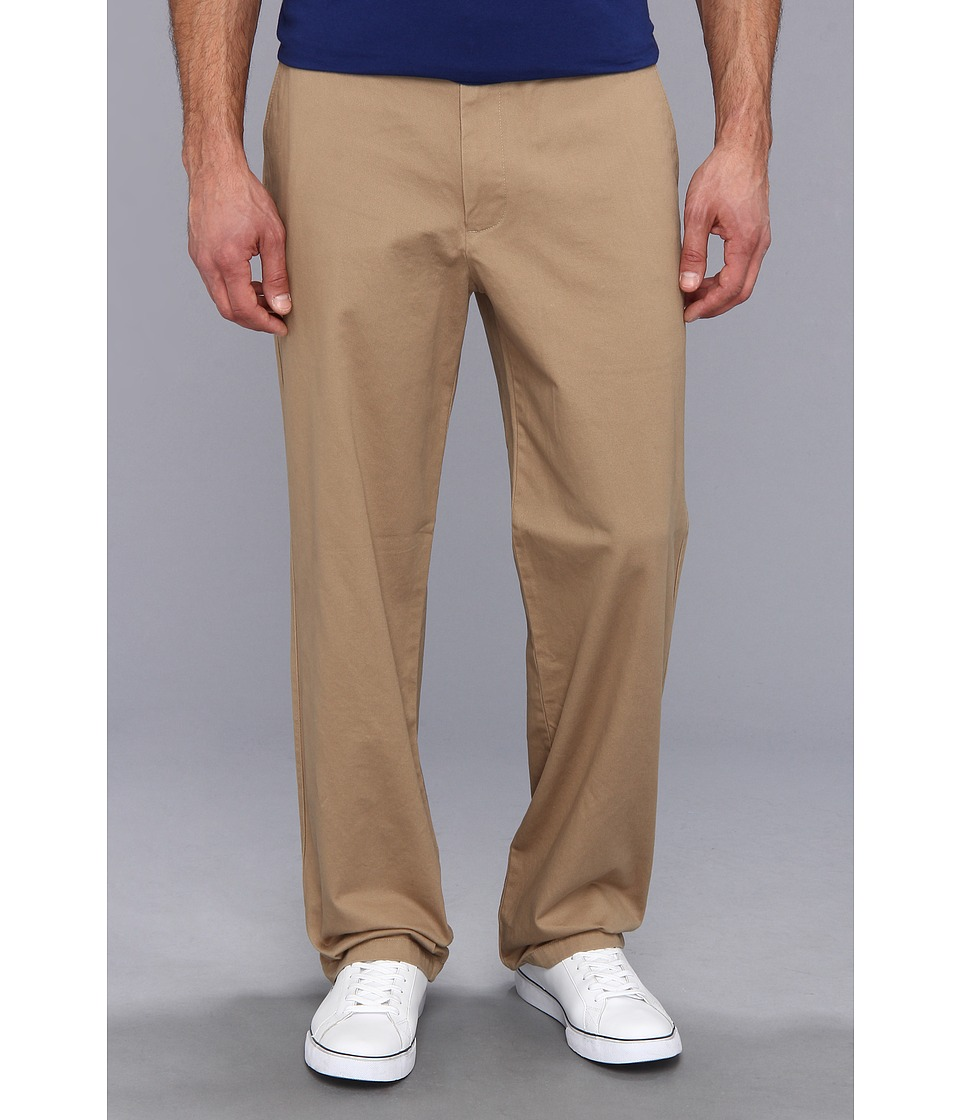 Dockers Men's - Game Day Khaki D3 Classic Fit Flat Front Pant (University of Kansas - New British Khaki) Men's Casual Pants