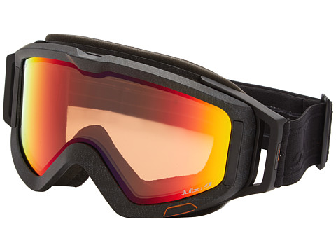 Julbo Eyewear - Meteor (Full Black/Orange Snow Tiger Lens) Goggles