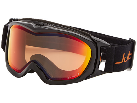 Julbo Eyewear - Revolution (Black/Orange Snow Tiger Lens) Goggles