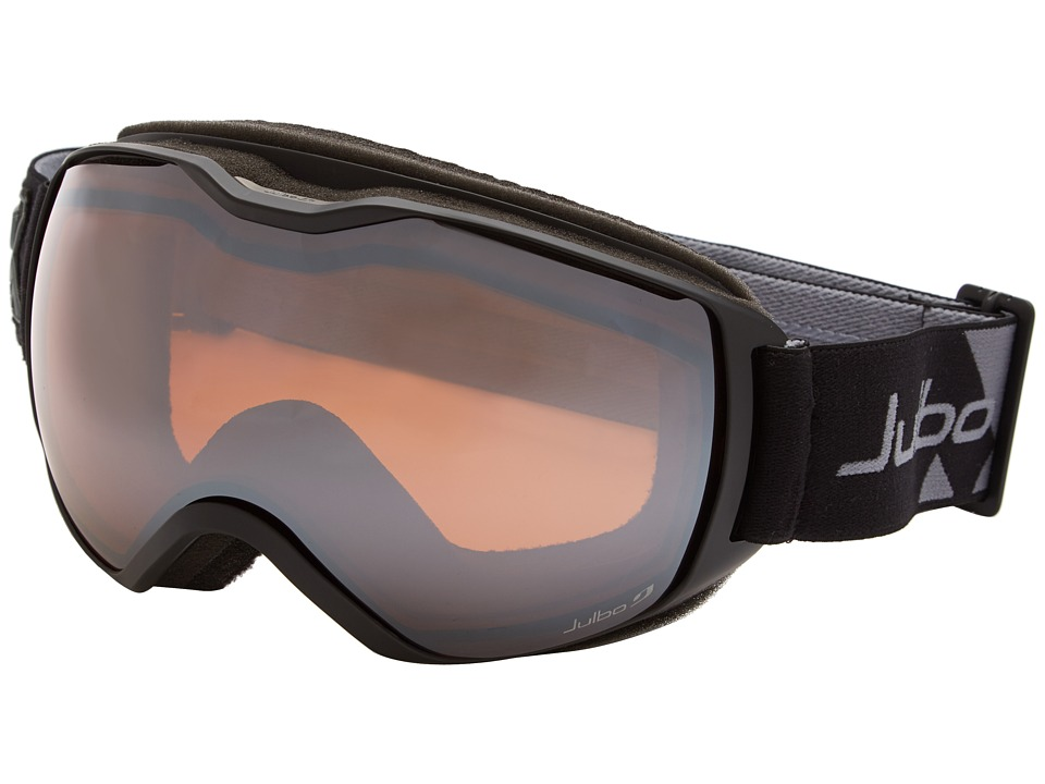Julbo Eyewear - Quantum Goggle (Black/Grey Orange Polarized Lens) Snow Goggles