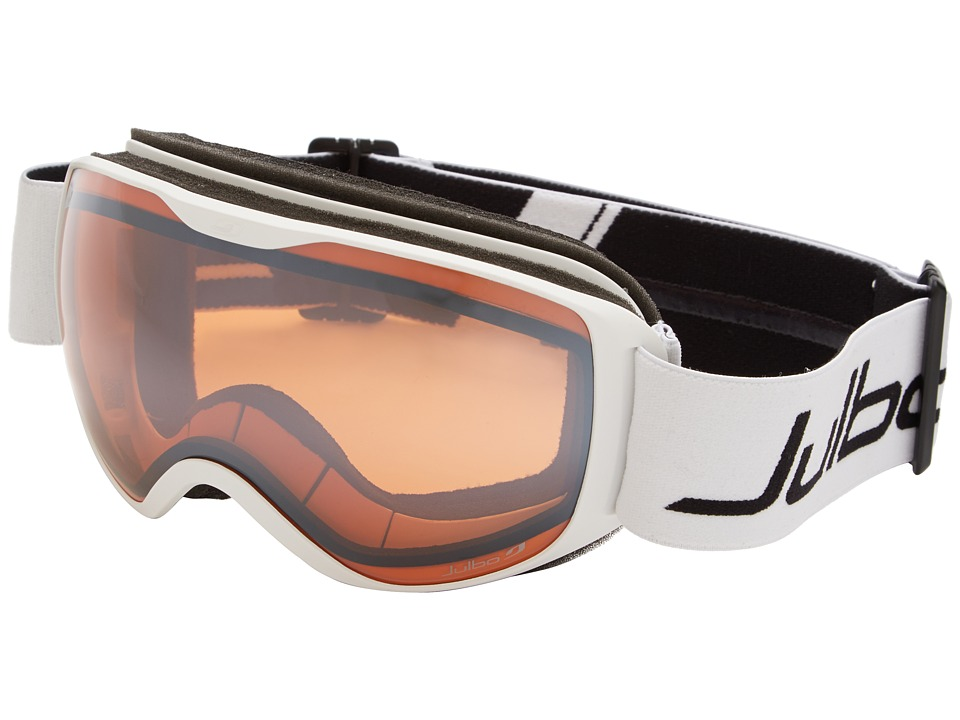 Julbo Eyewear - Pioneer Polarized (White/Black Orange Lens) Goggles