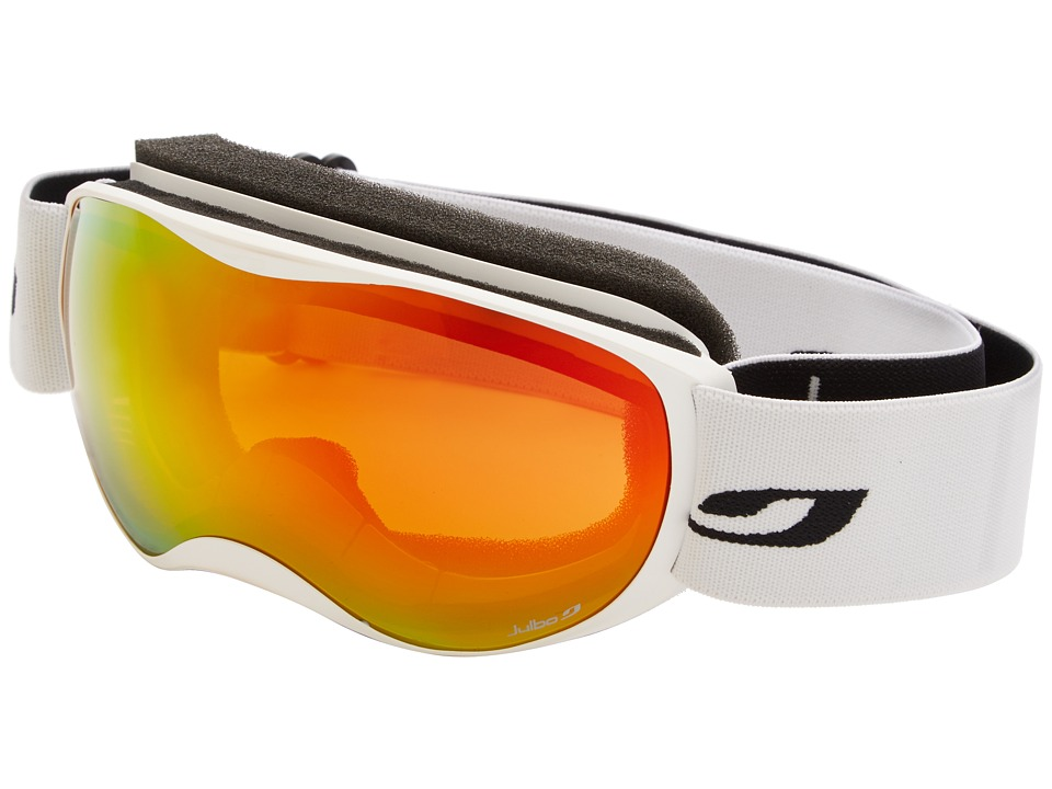 Julbo Eyewear - Atmo Goggle (4-8 Years Old) (White/Orange Orange Lens) Snow Goggles