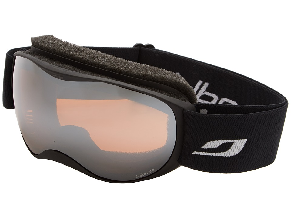 Julbo Eyewear - Atmo Goggle (4-8 Years Old) (Black with Spectron 3 Color Flash Lens) Snow Goggles