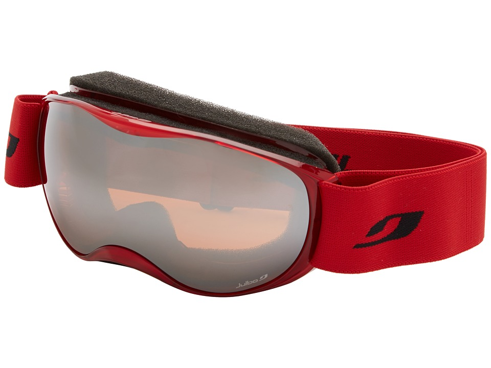 Julbo Eyewear - Atmo Goggle (4-8 Years Old) (Red Trans Orange Lens) Snow Goggles