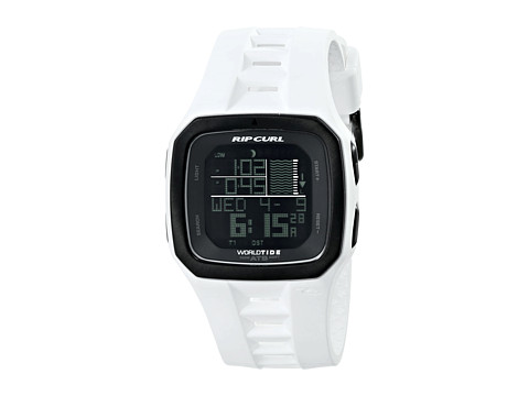 Rip Curl - Trestles Pro World Tide Time (White) Watches