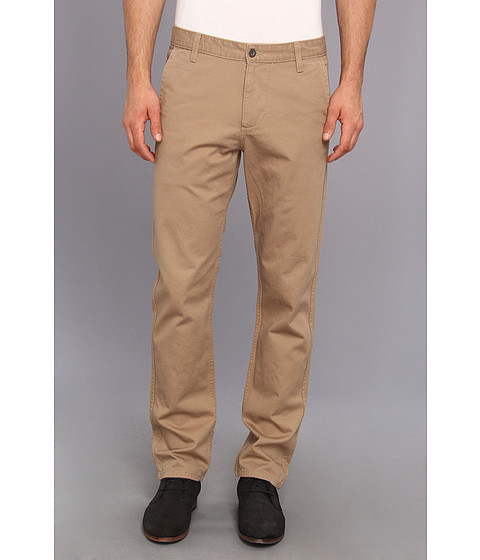 Dockers Men's - Game Day Alpha Khaki Slim Tape Red Flat Front Pant (University of Oklahoma - New British Khaki) Men's Casual Pants