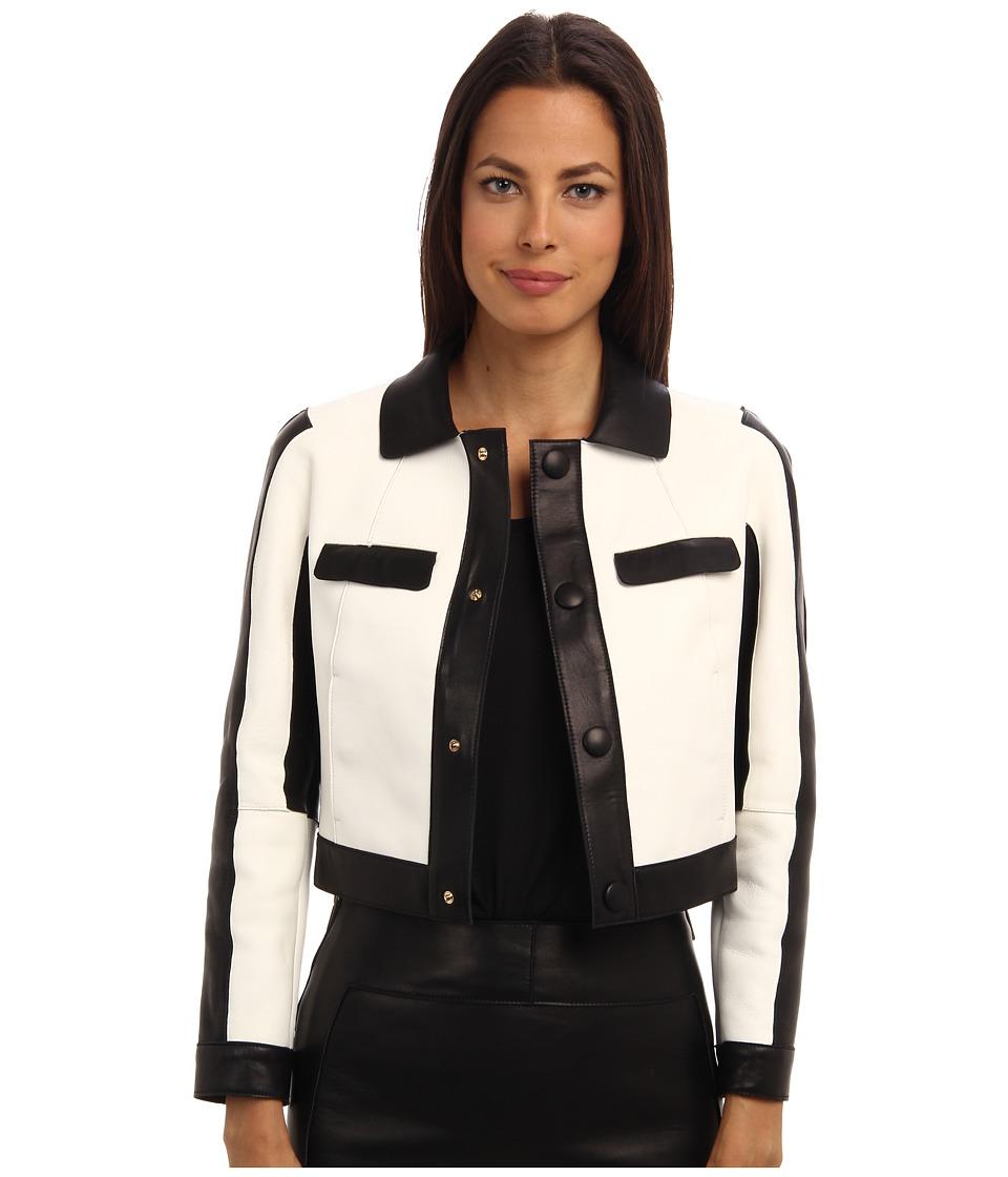 DSQUARED2 - S72AM0367 SX8131 964 (Off White/Black) Women's Coat