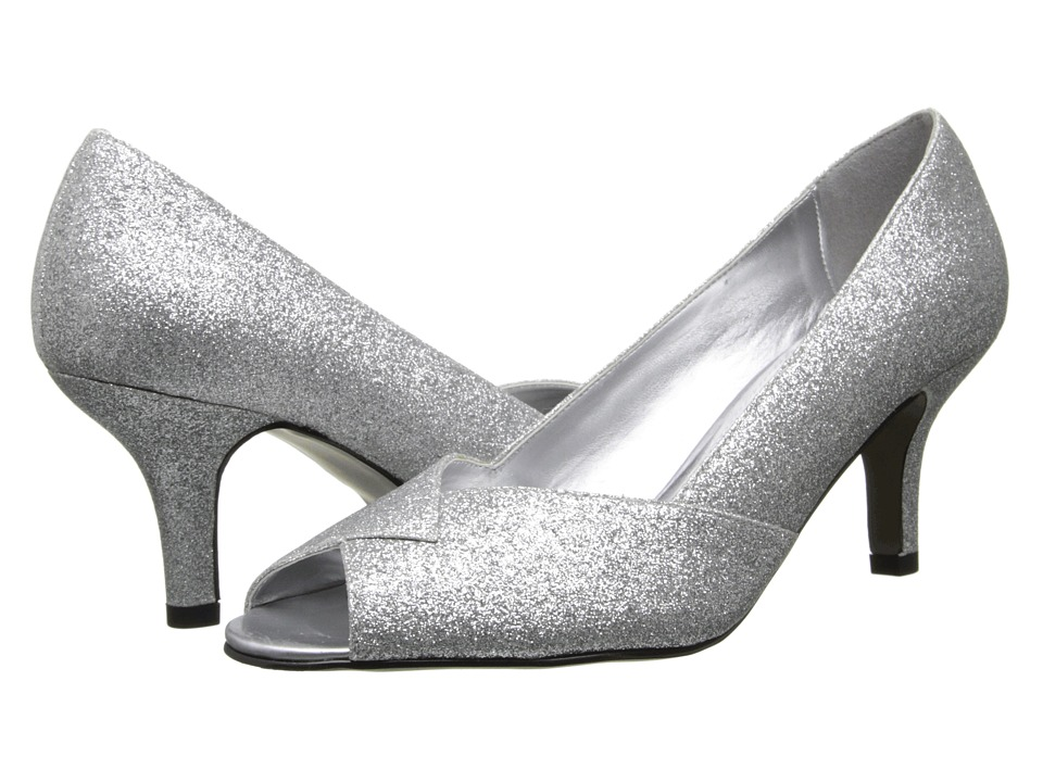 Easy Street - Ravish (Silver Glitter) Women's Shoes