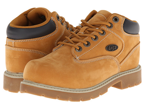 Lugz - Sector SR (Little Kid/Big Kid) (Golden Wheat/Cream/Bark/Gum) Men's Lace up casual Shoes