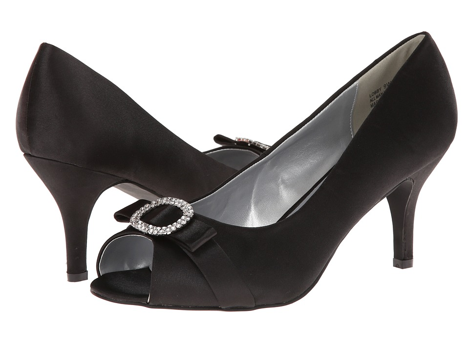 Annie - Lobby (Black Satin) Women