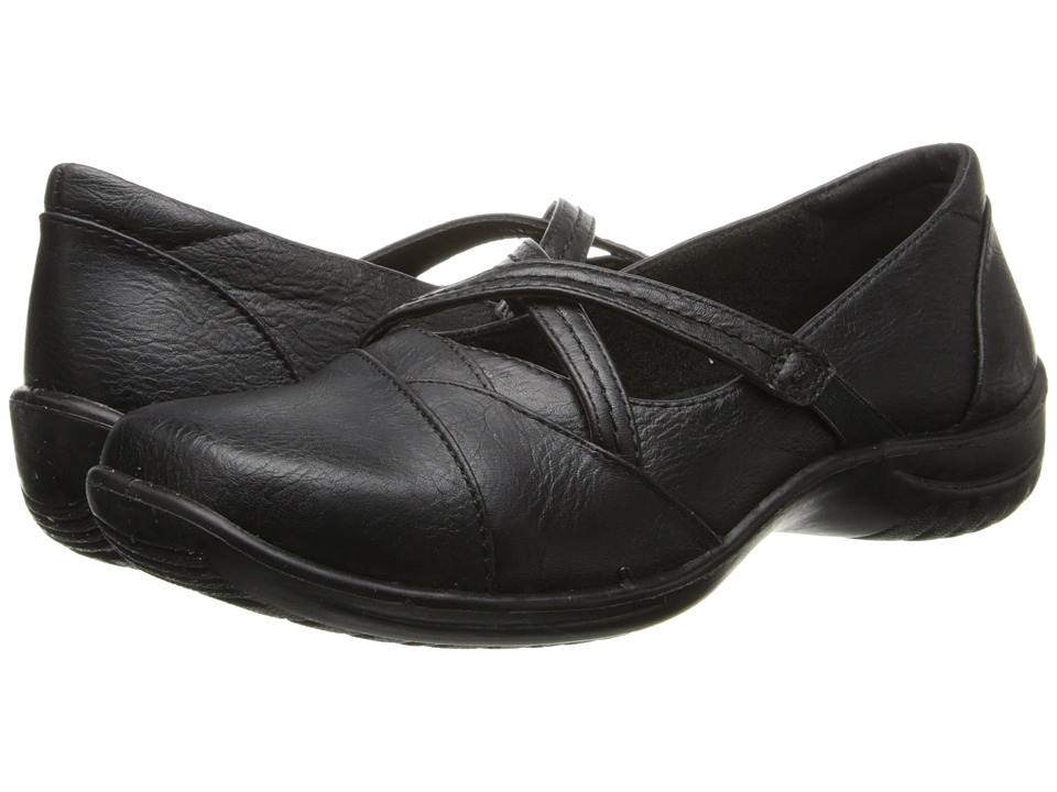 Easy Street - Marcie (Black) Women's Slip on Shoes