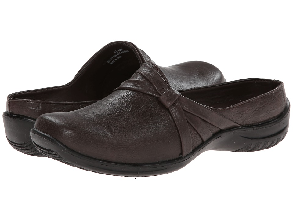 Easy Street - Ease (Brown) Women's Slip on Shoes
