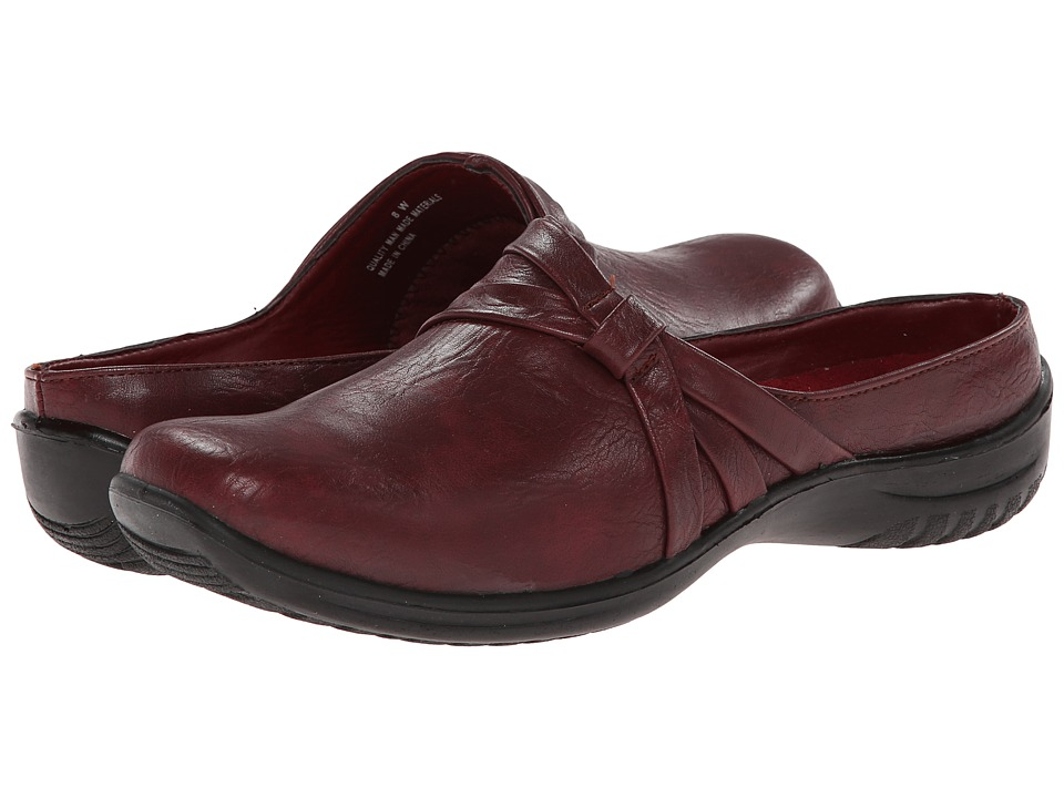 Easy Street - Ease (Berry) Women's Slip on Shoes