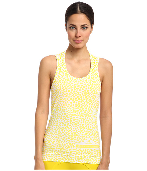 adidas by Stella McCartney - Run Graphic Tank M61151 (White) Women