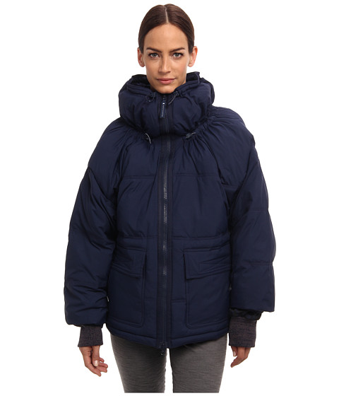 adidas by Stella McCartney - Wintersport Puffa Jacket M34598 (Indigo) Women