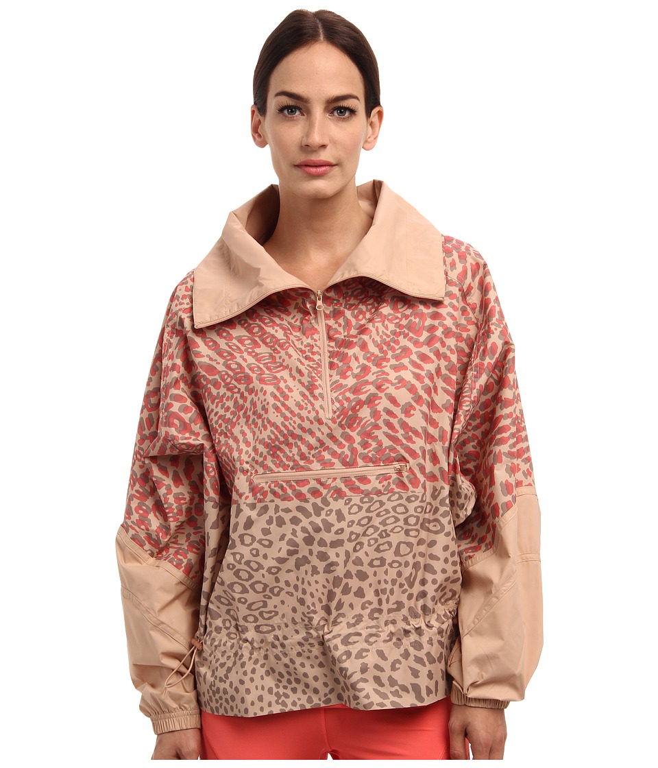 adidas by Stella McCartney - Essentials Starter Windbreaker M61172 (Rose Tan) Women's Long Sleeve Pullover