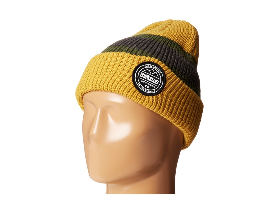 thirtytwo - County Beanie (Gold) Beanies