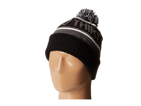 thirtytwo - Stackhouse Pom Beanie (Black Grey) Beanies