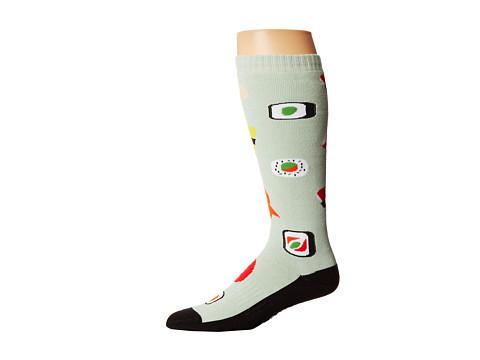 thirtytwo - Unagi Sock (Green) Men's Crew Cut Socks Shoes