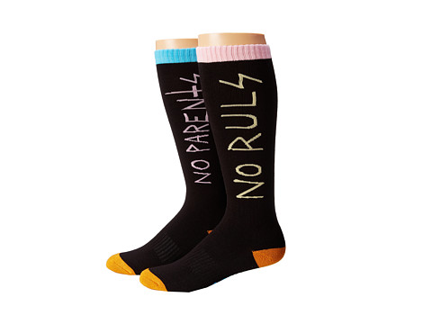 thirtytwo - Spring Break Sock (Black) Men's Crew Cut Socks Shoes