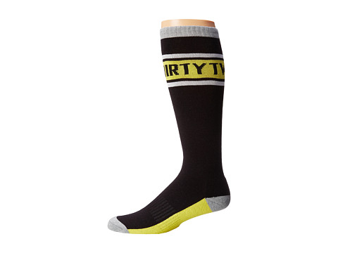thirtytwo - Coping Sock (Black Yellow) Men's Crew Cut Socks Shoes