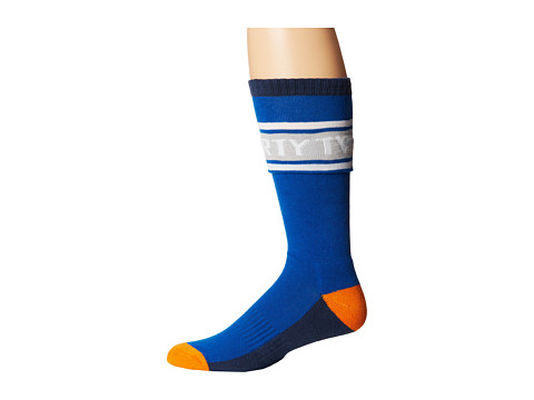 thirtytwo - Coping Sock (Enamel Blue) Men's Crew Cut Socks Shoes