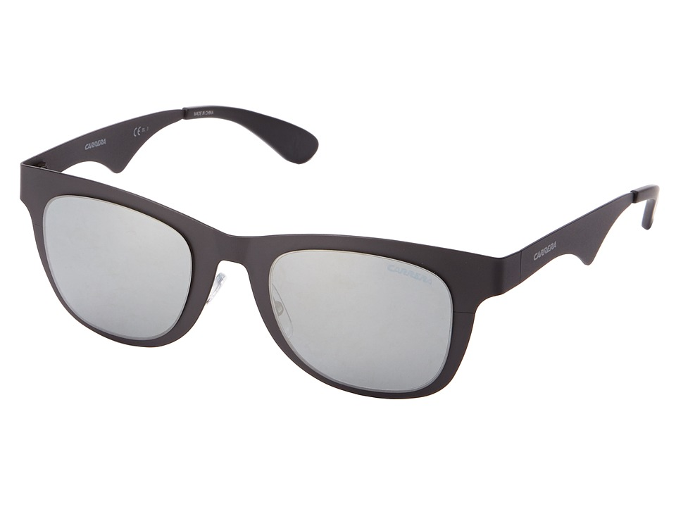 Carrera - Carrera 6000/M/T/S (Matte Black/Black Mirror) Fashion Sunglasses