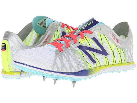 New Balance - WLD5000 (Silver/Spectrum Blue) Women's Track Shoes