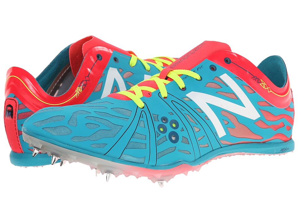 New Balance - WMD800v3 (Blue/Bright Cherry) Women's Running Shoes
