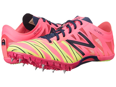 New Balance - WSD400 (Amp Pink/Dark Sapphire) Women's Running Shoes
