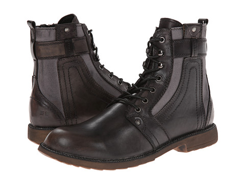 Bed Stu - System (Black 2) Men's Lace-up Boots