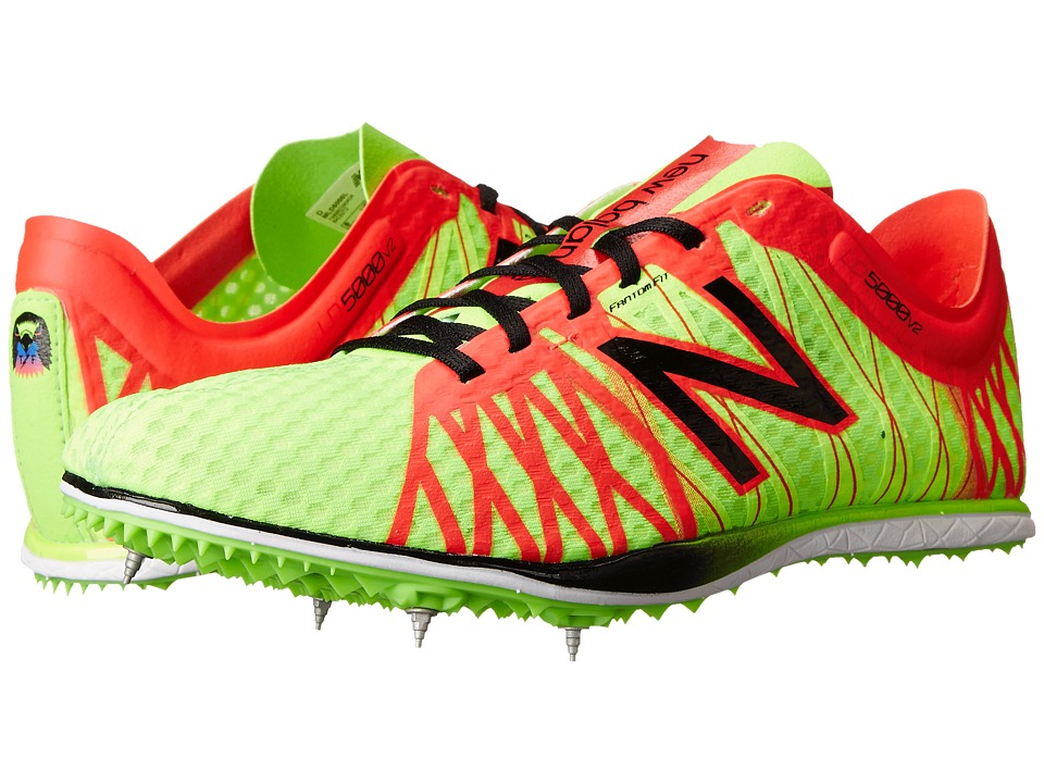 New Balance - MLD5000 (Chemical Green/Bright Cherry) Men's Running Shoes