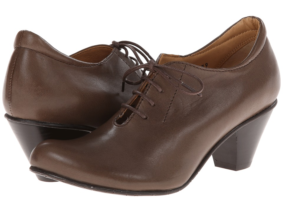 Fidji - L870 (Smoke) Women's Lace up casual Shoes