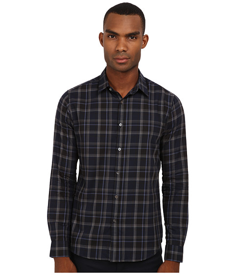 Theory - Zack PS Tharpe (Harbour Multi) Men's Long Sleeve Button Up