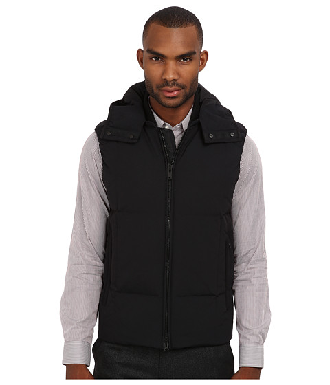 Theory - Octave V Mercia (Black) Men's Vest