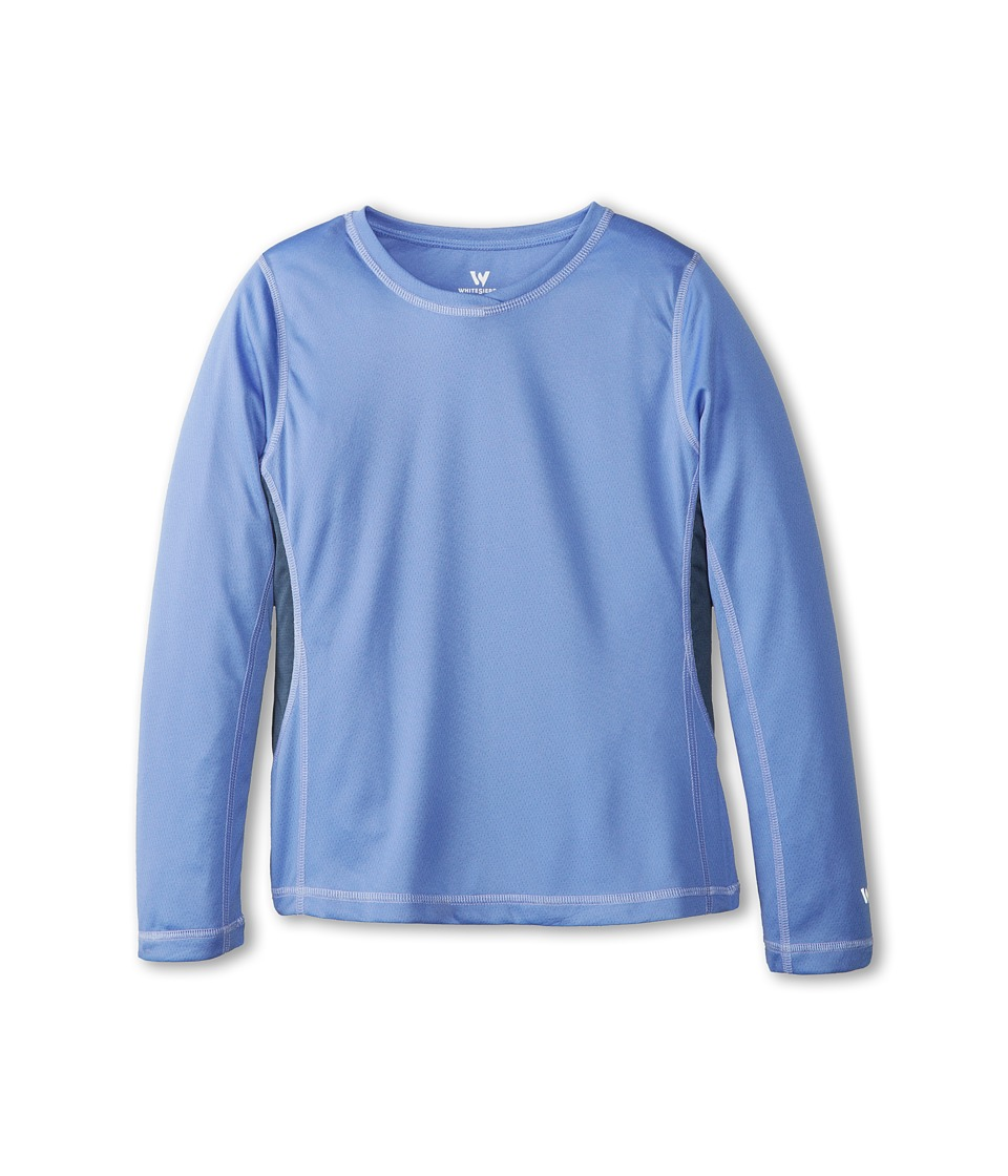 White Sierra - Sun Buster Tee (Little Kids/Big Kids) (Purple Rain) Women's Long Sleeve Pullover