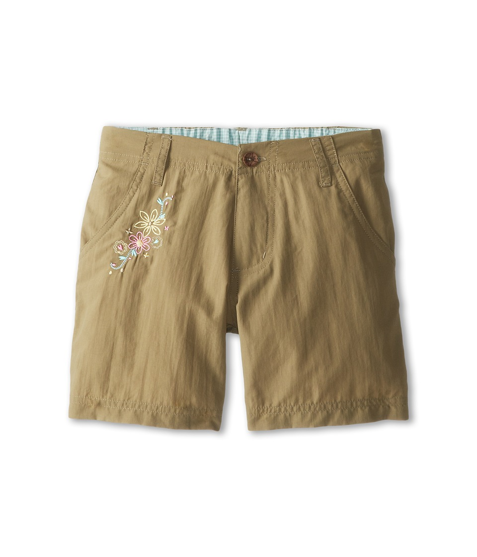 White Sierra - Trail Short (Little Kids/Big Kids) (Bark) Women's Shorts
