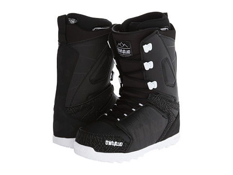 thirtytwo - Lashed 14 (Black White) Men's Cold Weather Boots