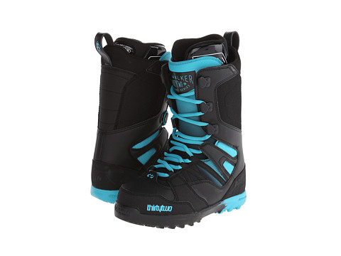 thirtytwo - Light JP Walker 14 (Black Blue) Men's Cold Weather Boots