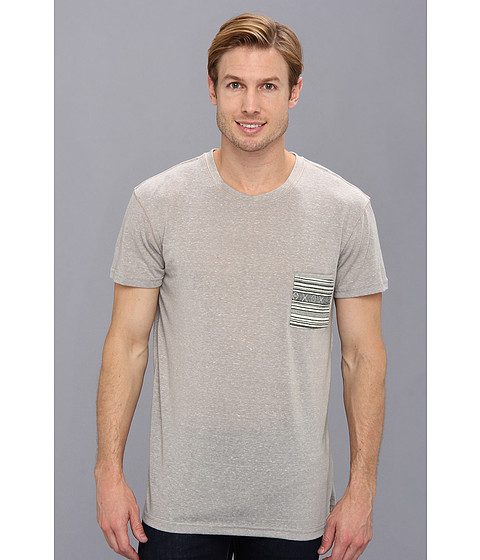 Sovereign Code - Navi S/S Knit (Grey White) Men's T Shirt