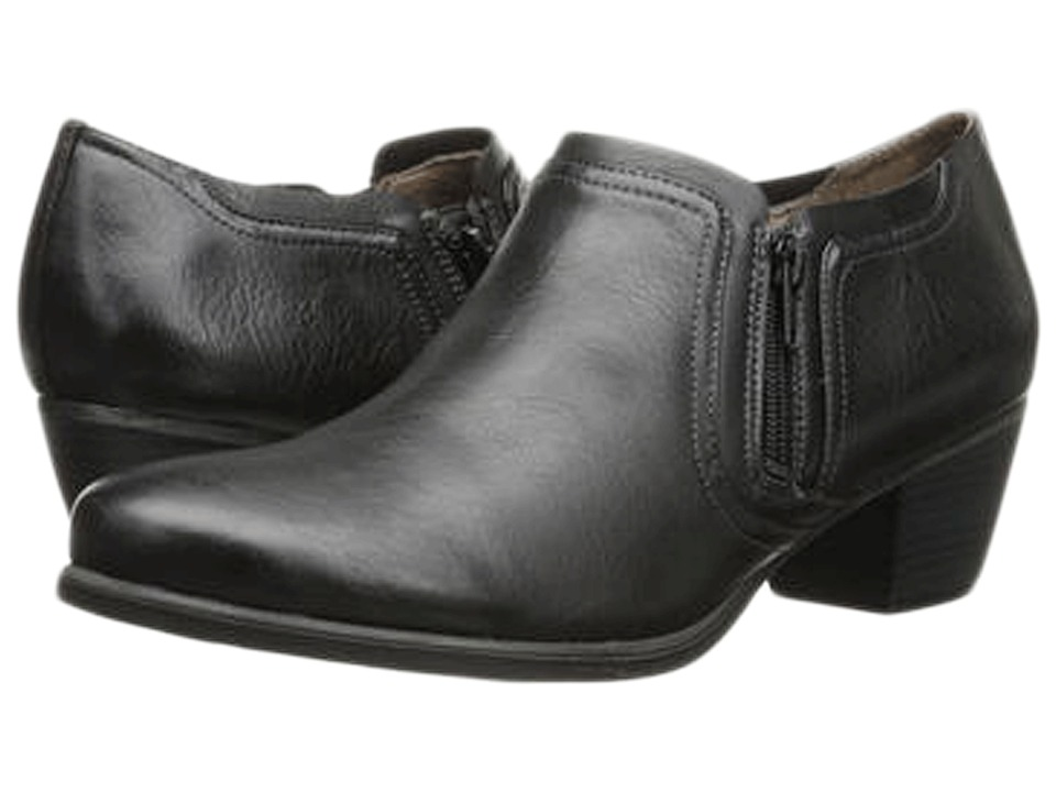 Natural Soul - Kasta (Black Smooth) Women's Shoes