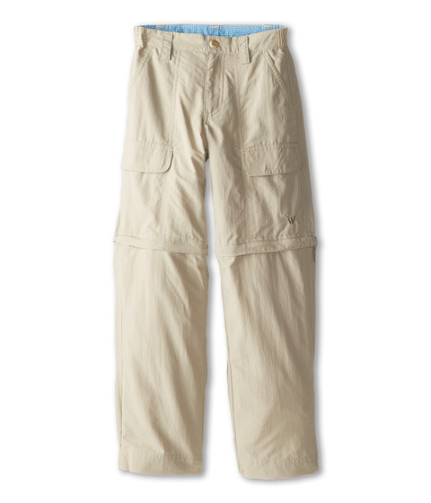 White Sierra - Trail Convertible Pant (Little Kids/Big Kids) (Stone) Casual Pants