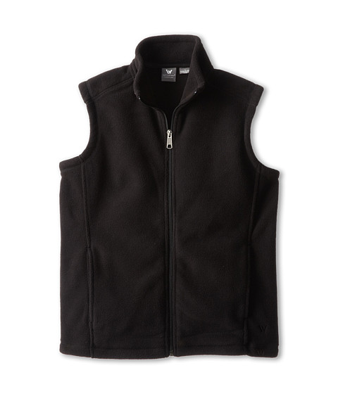 White Sierra - Sierra Mountain Vest (Little Kids/Big Kids) (Black) Vest
