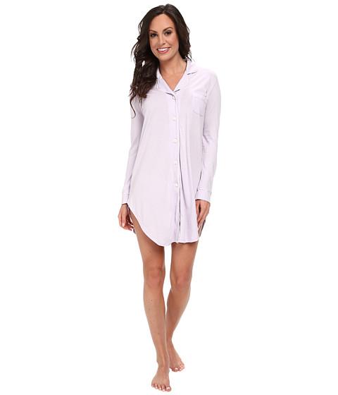 Cosabella - Bella L/S Nightshirt (Petal/Ivory) Women's Pajama