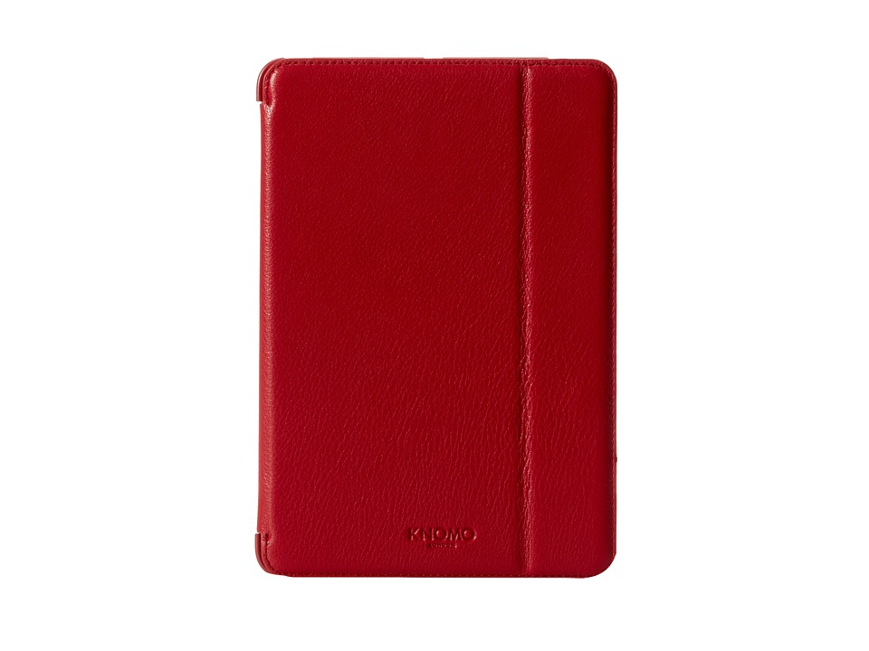 KNOMO London - Ipad Mini Retina Folio (Scarlet) Cell Phone Case