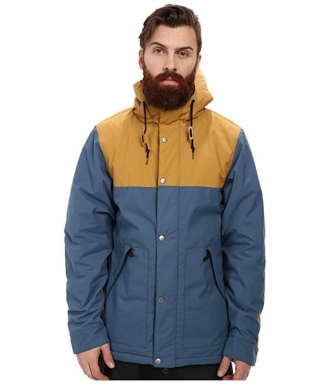 Poler - Scout Parka (Ocean/Camel) Men's Coat