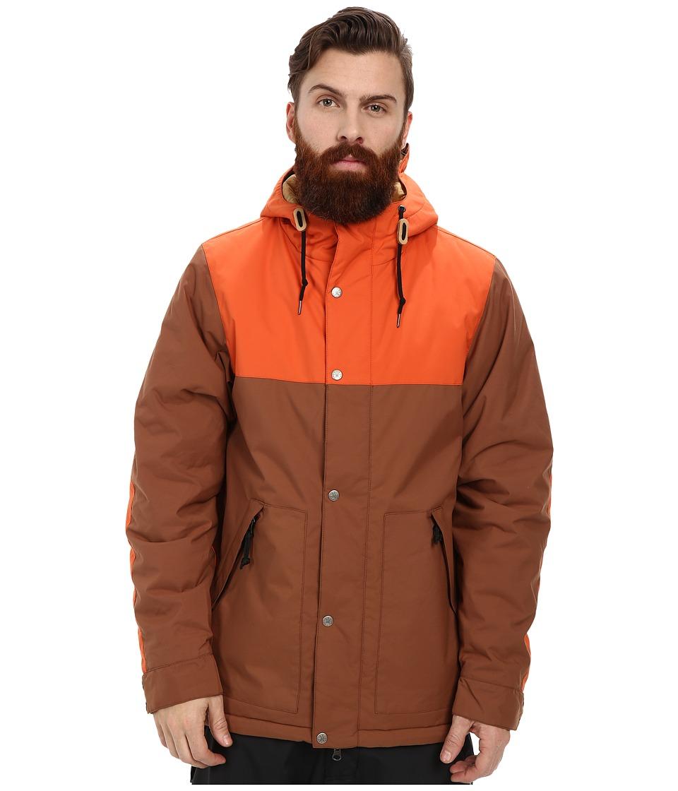 Poler - Scout Parka (Beaver/Burnt Orange) Men