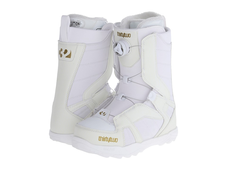 thirtytwo - Stw Boa 14 (White) Women's Cold Weather Boots