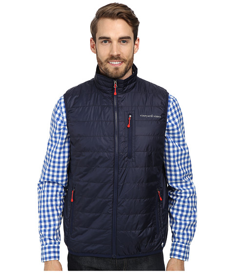 Vineyard Vines - Mountain Weekend Vest (Nautical Navy) Men's Vest