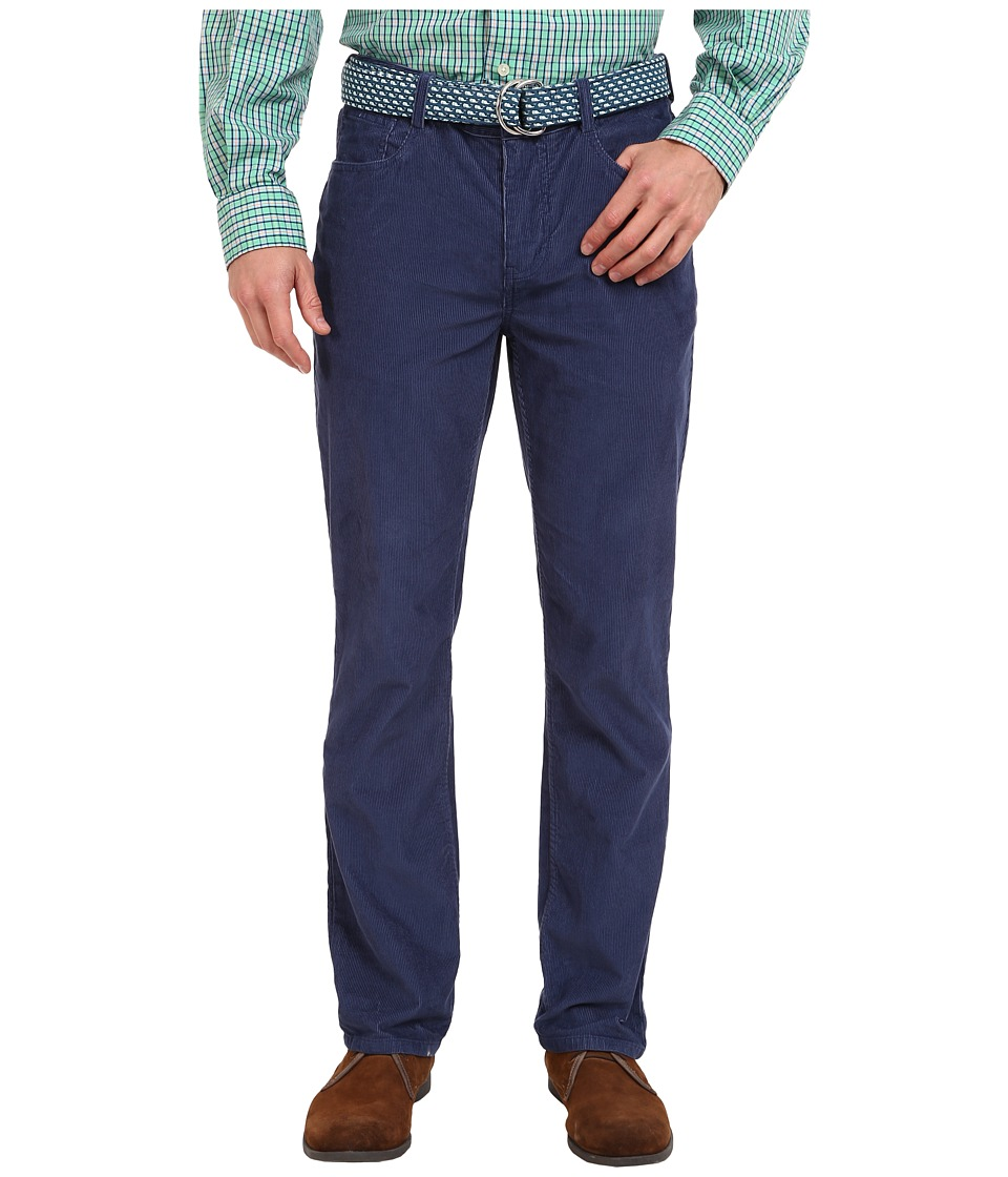 Vineyard Vines - Five-Pocket Cords (Ocean Splash) Men's Casual Pants